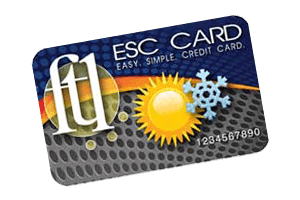 ESC Card for HVAC Service Payments