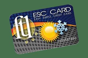 ESC Card for HVAC Service Payments