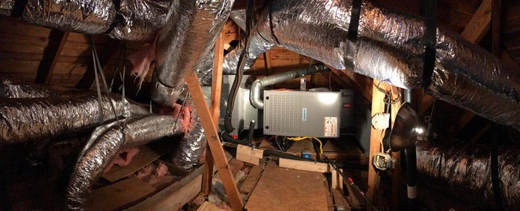Central Air System Ducts
