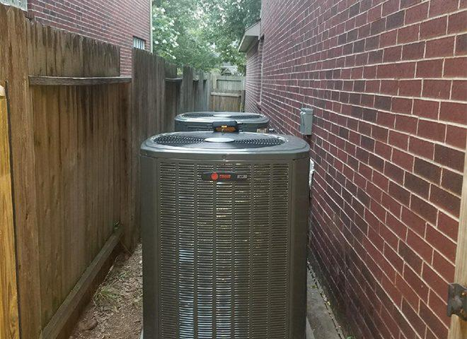 two AC units in your home