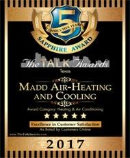 2017 The Talk Awards Excellence in HVAC Customer Service