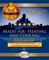 2017 Pulse of the City Excellence in HVAC Customer Satisfaction