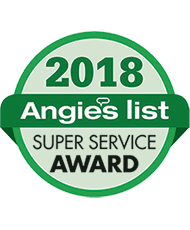 Angies List 18 Super Service Award