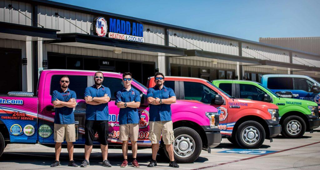 Madd Air Heating & Cooling are the insulation installation experts of Kingwood.