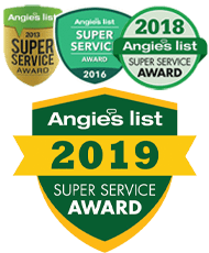 2013 2016 Angie's List HVAC Super Service Award