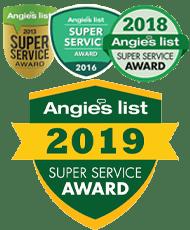 2013 2016 Angie's List HVAC Super Service Award