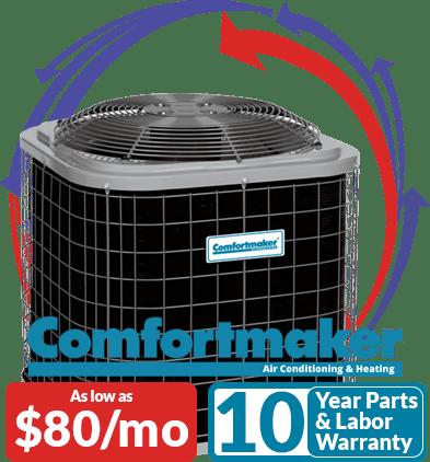 Comfortmaker Air Conditioning Promo